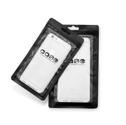 Wholesale Zip Lock Black - Case packing bags white black Zip lock Mobile phone accessories case earphone shopping packing bag OPP PP PVC Poly plastic packaging bag