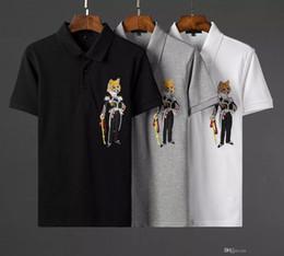 dd3259596c606 2018 new arrival classic fashion frete grátis fotos reais Bordado whith  tags de manga curta homens casuais top quality cotton polo shirt barato  camisa homem ...