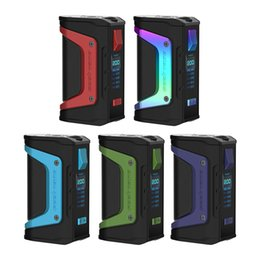 Original GeekVape Aegis Legend 200W TC Box Mod e cigs Dual 18650 Batería Vape Box Mods Kits con Advanced AS Chipset desde fabricantes