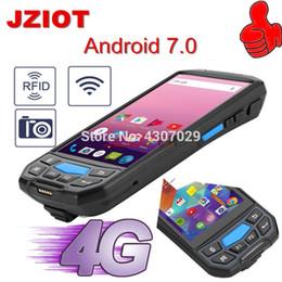 2019 rfid lesegerät handheld Handheld Android Rfid Nfc Reader Terminal Pda 2D Barcode-Scanner günstig rfid lesegerät handheld