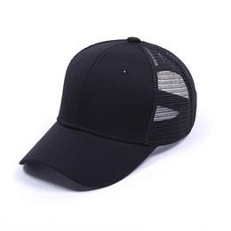 Wholesale Lady Hats Wholesale - C.C hat Glitter Ponytail CC Baseball hat Softball hats back hole Pony Tail Glitter Mesh Baseball For lady