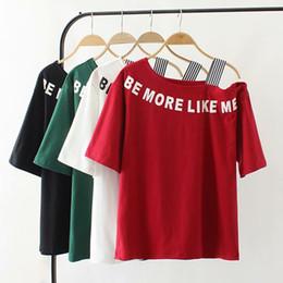 5a4e5d432 camisas oversized mulheres Desconto Oversized Plus size gola de algodão  senhoras camiseta carta de impressão mulheres