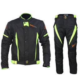 2019 motocicleta equitación trajes hombres Mono de verano para montar monos y ropa impermeable para hombres y mujeres. motocicleta equitación trajes hombres baratos