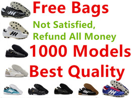 Wholesale Leather Turf Soccer Shoes - Cheapest Mundial Team Astro FG TF IC Soccer Shoes Men Outdoor Mundial Team Turf Football Shoes Indoor Soccer Football Boots Football Cleats