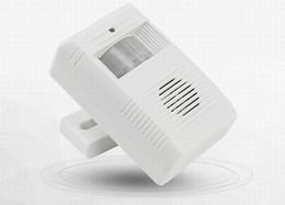 elektronische tastensperren Rabatt Wireless Gruss Warnung Türklingel Willkommen Chime Motion Sensor Detektor Alarm auf Lager schnelle Lieferung
