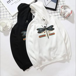 Wholesale free delivery logo - 2018 Wholesale New Style Hot Sale sweethearts Embroidery logo gucci Hoodies Fashion and leisure sports YZZUS Free Delivery