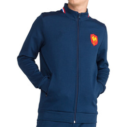 2019 XV-де-Франс главная регби Джерси 18/19 пот презентацию XV-де-Франс Франция регби-Майо-де-XV куртка Джерси размер S-М-L-ХL-размер 3XL от