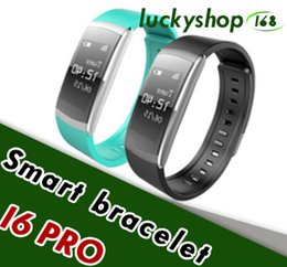 Wholesale Pro Monitoring - Original Iwown i6 PRO Smart Wristband Wearable Heart Rate Monitor Fitness Tracker Smartband Bracelet Band Support Andriod IOS