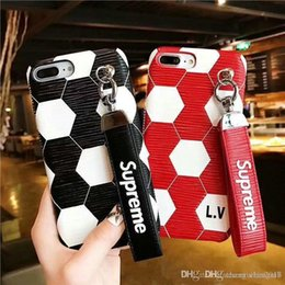 Couverture de cas de marque de football de téléphone portable Shell pour iphone X 6 6plus 7 7plus 8 8plus couverture dure ? partir de fabricateur
