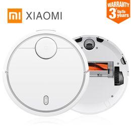 Wholesale Fine Mobile - Original XIAOMI MI Robot Vacuum Cleaner for Home Automatic Sweeping Dust Sterilize Smart Planned Mobile App Remote Control
