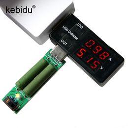 Wholesale usb detector voltage current meter tester - Kebidu Dual USB Charger Mobile Power Current Voltage Charging Detector battery Tester Volt Meter Ammeter