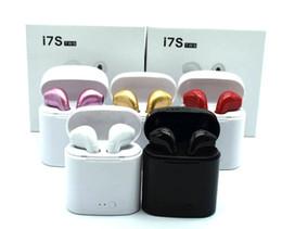 I7S TWS Gemelos Auriculares Bluetooth Auriculares inalámbricos Mini Auriculares inalámbricos Auriculares Auriculares con micrófono estéreo DHL desde fabricantes