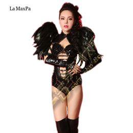 Trajes de cantantes online-2017new estilo sexy mujeres etapa de vestuario para cantantes cantante dj ds etapa traje bar bailarina actuaciones vestir