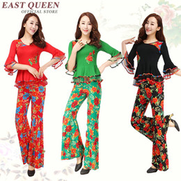 Wholesale Folk Skirt - Wholesale Chinese folk dance oriental dance costumes traditional chinese dance costumes large size L-5XL AA2529 YQ