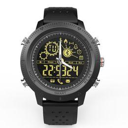 круглый набор интеллектуальных часов Скидка Модный дизайн пара водонепроницаемый световой смарт-часы круглый циферблат секундомер реального времени упражнения монитор часы