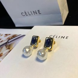 Ohrringe vereinigte staaten online-Anchor-Stil mit Diamant baumeln Europa und die Vereinigten Staaten Marke Mode übertrieben Messing mit Standard-Nachtclub Party feststecken Ohrring