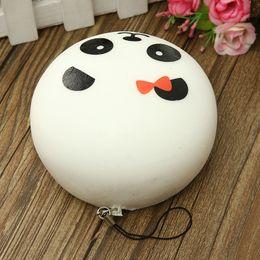 hermosos celulares Rebajas Novedad Leory Recién llegado 1pcs Hermoso diseño Lindo 10cm Squishy Charms Bollos Encanto para teléfono celular Kawaii Jumbo Panda Key Bag Straps Colgante