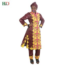 H D 2017 african dresses for women clothes 100% cotton bazin embroidery  scarfs headwraps tops pants suits dashiki dress for lady b695ca965c9b