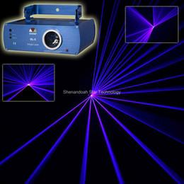 Wholesale Dj Laser Light System - New Blue Laser Line Scan Beam DMX DJ Dance Bar Xmas Party Club Disco Disco Lighting Effect Stage Light Show System s3