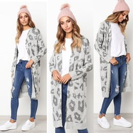 2c7b09ba22 DHL 16 colors NEW Women s long-sleeved autumn winter warm sweater knitted  cardigan 2018 fashionable loose sweater jacket