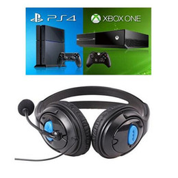 Wholesale Laptops Microphones - 3.5mm Gaming headphone Earphone Gaming Headset Headphone Xbox One Headset with microphone for pc ps4 playstation 4 laptop phone