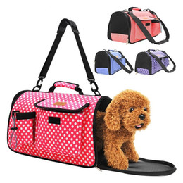 Wholesale Pet Tote Bags - Portable Safety Dog Carrier Hollowed Out Design Breathable Puppy Bag Foldable Pet Handbag Easy To Carry 33za2 Y