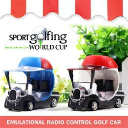 Wholesale Mini Model Rc Car - RC Mini Golf Car Gift Toys presents with gift retail box kids 1:32 racing car toys