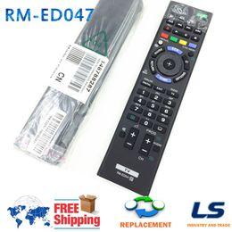 linux медиа-окно Скидка 100% новый SONY TV Remote TV RM-ED047 TV Control Suites 2 AAA батареи