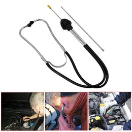 via tools Promo Codes - 2017 Car Cylinder Stethoscope Hearing Tool Cylinders Stethoscope Car Engine Tester Diagnostic Tool via free shipping