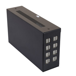 Wholesale Power Supply 16 - 16 Ports 75W Industrial Power Supply USB Charger Station Desktop Universal Multi Port Smart Phone Charger with US EU UK SAA plug