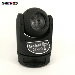 mini led moving head beam light Coupons - LED Mini Moving Head 60W Super Beam Light Good for Disco Infinite Moving Head Lighting Fast Shipping
