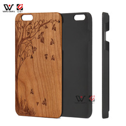 Wholesale Iphone Case Life - Tree of life wood cellphone case for iPhone 7 8, collection dual layer luxury wood hard pc back cover for Apple i Phone