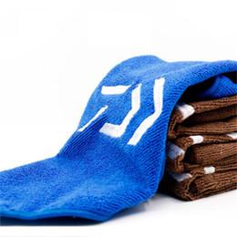 Outdoor caminhadas roupas on-line-Roupas de pesca Espessamento Antiaderente Absorvente Ao Ar Livre Esportes Limpo Mãos Toalha Para Caminhadas Escalada Resistência À Tração Para Rasgar 8dy dd