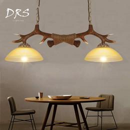 2018 Antike Stil Pendelleuchte Amerikanischen Kronleuchter Wohnzimmer Bar  Pendelleuchte Antike Beleuchtung Europäischen Stil Industrie Restaurant Harz