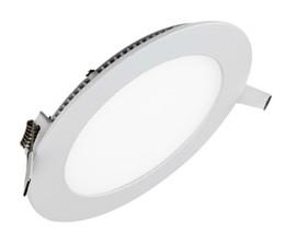 Панель оболочки онлайн-Высокое качество Bridgelux SMD2835 Dimmalbe 18 Вт встраиваемые панели лампы ультратонкий светодиодный светильник Белый Shell Driver AC 85-265V Бесплатная доставка