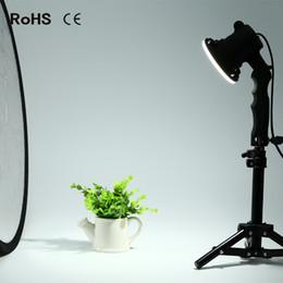 Leichte kastenstücke online-2 Stück LED Lampe Fotografie Studio Glühbirne Porträt Softbox füllen Licht Lichter Lampe und 2 * 37 cm Licht stehen