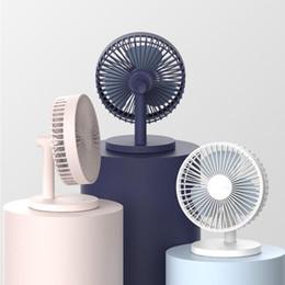 Canada Ventilateur de bureau silencieux de bureau de ventilateur de bureau de mini USB ultra-silencieux Ventilateur électrique de vent de 3 vitesses avec la batterie créatrice pour la maison Offre