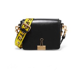 Wholesale Spring Women Handbags - 2017 Sale Women Polyester The New Spring And Summer Cow Leather Handbag Shoulder Wide Straps Folder Stripe Satchel Bag Small