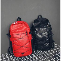 Mochilas suaves online-Nueva mochila de diseño con letra impresa doxford doble bolso de hombro de lujo al aire libre mochilas escolares para estudiantes mochilas