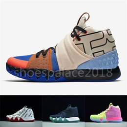 Wholesale Cheap Foot - What the Irving 4 Cheap On Sale Basketball Shoes for Best quality 4s Multicolor Sports Sneakers S1 Hybrid Wrap The Foot In Adaptive Support