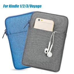 2019 búho casos para ipad Manga de la caja de la tableta Bolsa de 6 pulgadas para Paperwhite Kindle 2 3 Voyage séptima octava caja de la bolsa de libros electrónicos de bolsillo cubierta para Kindle