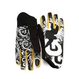 нейлоновые водонепроницаемые перчатки Скидка Professional Ski Gloves Winter Sports Snowmobile Motorcycle Riding Nonslip Glove W20
