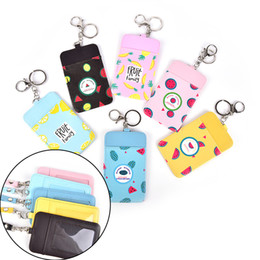 Wholesale Bus Bags - Lovely New Summer Fruits 11*7CM - Neck Hanging & Key Hook BUS & ID Card Holder Case Pouch BAG Holder