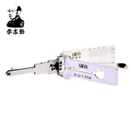 Wholesale gmc cadillac - Lishi GM 39 lock pick and decoder for Buick,cadillac,chevrolet,GMC