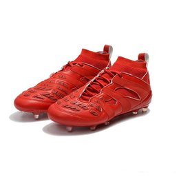 Wholesale Leather Mail - Box Wholesale Direct Mail Predator Accelerator DB Beckham Capsules FG Soccer Shoes Men Soccer Shoes Outdoor Training Soccer Shoes