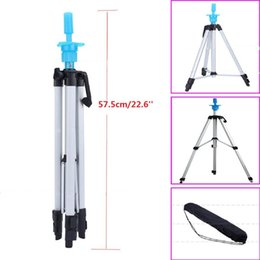 "Wholesale Hair Salon Mannequin Heads - Free Shipping High Quality 55"" Adjustable Tripod Stand Salon Hair Cosmetology Mannequin Training Head Holder Hairdressing Clamp"