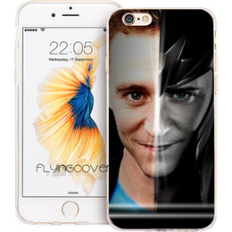 Wholesale Iphone Superhero Cases - Coque Superhero Loki Clear Soft TPU Silicone Phone Cover for iPhone X 7 8 Plus 5S 5 SE 6 6S Plus 5C 4S 4 iPod Touch 6 5 Cases.