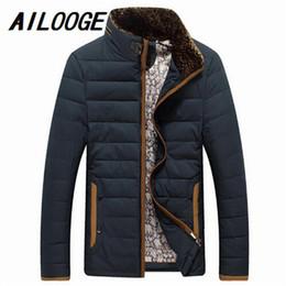 2019 cappotto di giacca a tuta 2016 4 colori inverno caldo giacche da uomo giacche addensare tuta sportiva cappotto wadded uomo vestiti Parka soprabito M-3XL abiti da uomo cappotto di giacca a tuta economici