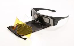 ess armbrustgläser Rabatt 3 Linsen ESS-Schutzbrillen Taktische Brillen Sonnenbrillen CROSSBOW Outdoor Military Fan Brillen Geschosssichere Army Eyewear mit Etui