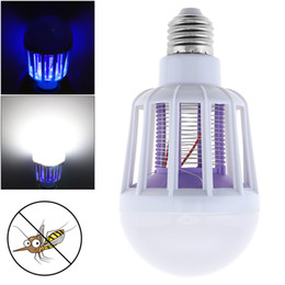 2019 ampoule led bleu froid E27 220V 9W multi-fonction tueur de moustique avec LED pour la maison / Cuisine / Bureau LEG_761